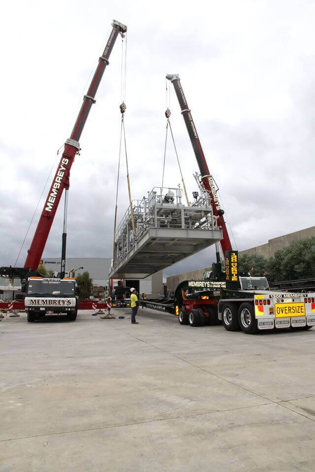 130t Liebherr and 60t Liebherr Dual Lift Mobile Cranes