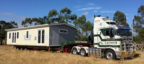 Supertilt Trailer + Transportable Home